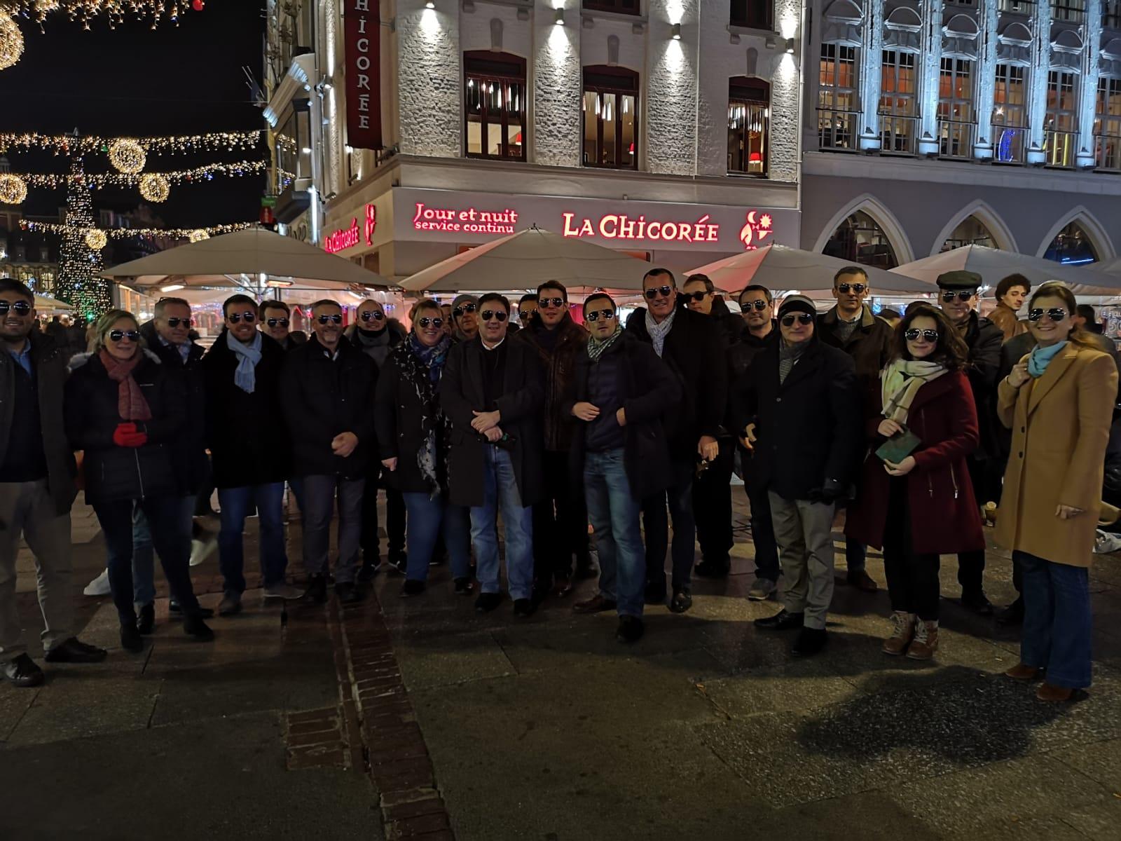 Comité de direction dans les haut de France photo de groupe